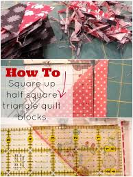 How to square up your half square triangle quilt block & square up your half square triangle quilt block | patchwork posse | easy  sewing projects Adamdwight.com