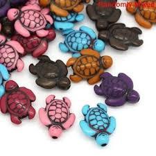 Акриловые бусины-разделители черепахи, смешанные ...