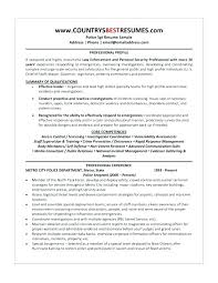 Legal Officer Resume Sample Awesome Collection Of Police Officer