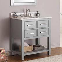 bathroom vanities 30 inch white. Brilliant Vanities Chilled Gray 30Inch Vanity Combo With Carrera White Marble Top With Bathroom Vanities 30 Inch