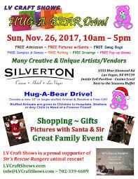 nov 26 2017 silverton lv craft gift show hug a bear drive