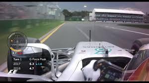 G Force Comparison Chart F1 2017 V 2016 G Force Comparison