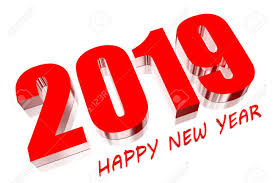 3D Happy New Year 2019 Stock Photo, Picture And Royalty Free Image ...