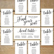 Wedding Seating Chart Cards Sit Back And Relax Because We