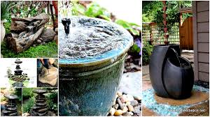 26 wonderful outdoor diy water features tutorials and ideas that will beautify your backyard
