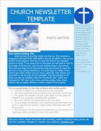 Ministry Newsletter Templates Business Template Brochure