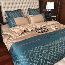 New Bed Sheet Design Sets 4pcs Classic New Design Duvet Cover Bed Sheet Sets My Aashis