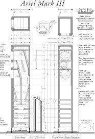 Cerwin Vega Box Design Diagram Www Nutshellhifi Com Ariel 3a Gif Lautsprecher Pinterest