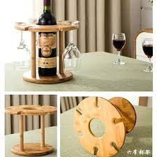 wooden wine bottle and glass holder high quality fashion bar red wine rack wooden wine bottle holder glass stemware rack storage organizer wooden garden