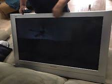 panasonic plasma tv 42 inch. panasonic th 42 inch flat panel plasma model 42pd50u with attached wal mount tv