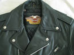 harley davidson motorcycle leather jacket amf vtg 70s biker cycle champ men 42