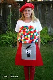 a casarella gumball machine costume