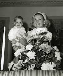 Florida Memory • Florida's First Lady Erika Kirk with daughter Claudia at  the mansion.