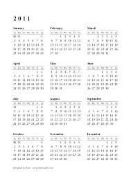 Year At A Glance Calendar 2015 2015 Calendar At A Glance Calendar