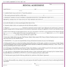 Simple Apartment Lease Form Simple Apartment Lease Form Month To