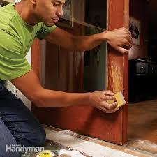 easily repair pet claw marks diy