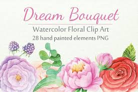 Download your free svg cut file and create your personal diy project with these beautiful quotes or designs. Watercolor Floral Diy Set From Designbundles Net Floral Watercolor Diy Set Floral Painting