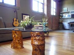 natural trunk coffee table diy tree tables end for iture stump battery operated night light small