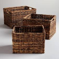 Versatility Rattan Storage Baskets - MODERN HOUSE DESIGN