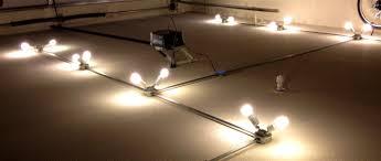 garage track lighting.  track light fixture diy project basement lighting garage lights track to n