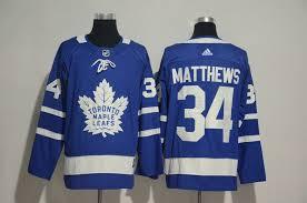 34 Auston Nhl Jerseys Ice Hockey Leafs Matthews Toronto Blue Adidas Maple