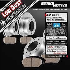 Front Rear Drill Slot Brake Rotors And Ceramic Pads Dodge Ram 1500 2500 3500 Brake Rotors Cars Trucks Brake