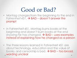 thesis statements large claim thesis statements a thesis montag changes from the beginning to the end in fahrenheit 451