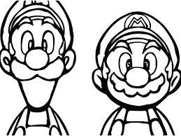 Coloring Pages Mario Mario And Luigi Coloring Page Edenolur Co