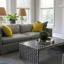 gray couch pillows. Interesting Pillows Dove Gray Sofa With Canary Yellow Pillows To Couch M