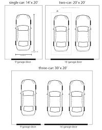 garage door widths backyards standard width interior design dimensions nz