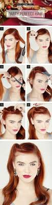 1940s within hair how to glam roll rockabilly pinup psychobilly style hair