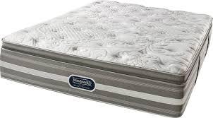 Simmons Beautyrest Classic Plush Mattress Pillow Cushion Blanket
