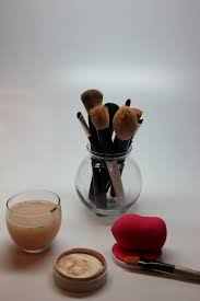 makeup brush cleanser let brushes and beauty blender dry also leave lid off cleansing bar and let that