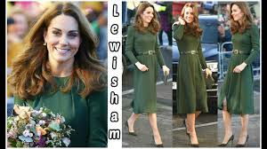 Beulah Designer The Duchess Of Cambridge Visit Lewisham In Dress By Designer Beulah Which Supports Abused Women
