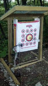 a permanent practice range can make your targets last longer and improve your shooting build