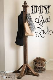 Coat Rack Monster For Sale Fascinating DIY Coat Rack Shanty's Tutorials Pinterest Diy Coat Rack Coat