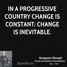Quote On Change New Benjamin Disraeli Change Quotes QuoteHD