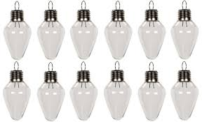 Fillable Light Bulbs Houseables Fillable Light Bulb Candy Container Plastic