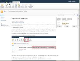 Sharepoint Knowledge Base Template 2013 Harepoint Knowledge Base For Sharepoint Screenshots