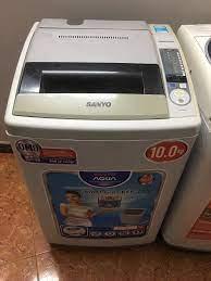 Máy giặt sanyo 10kg mới 85% nguyên bản - Điện lạnh, Máy, Gia dụng tại Hải  Phòng - 28697713