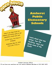 School Open House Flyer Template Ldlm Info