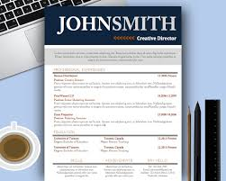 sample creative resume templates for word resume sample information example resume template for creative director professional experience