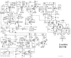 Schematic large size homebrew rf circuit design ideas mhz channels walkie talkie dc1yb house