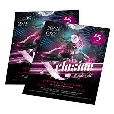 Pictures Of Flyers Quality Club Flyers Printing Uprinting Com