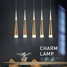 Đèn thả trần, đèn thả led bàn ăn 5 led màu vàng trang trí bàn ăn, phòng bếp  chính hãng 1,499,000đ
