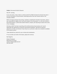 Duties Of A Marketing Consultant Temp To Permanent Employment Request Letter Sample