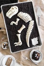 diy dinosaur dig cakes