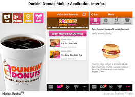 Dunkin Donuts Allergen Chart How Dunkin Donuts Is Embracing Technology Market Realist
