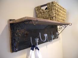 diy wall coat rack rustic and shelf clockwork interiors from reclaimed  lumber racks