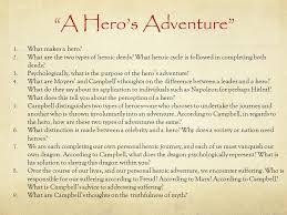 hero short essay